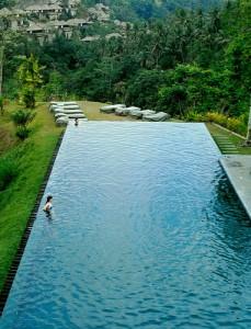 Ubud, ville de Bali: un village d'art et de culture