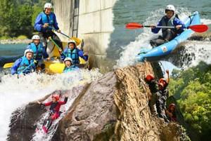 Sport de montagne, sport d'eau vive et activités de nature avec Pavillon des Sensations