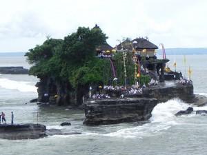 Le Pura Tanah lot à Bali