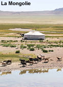 La Mongolie :