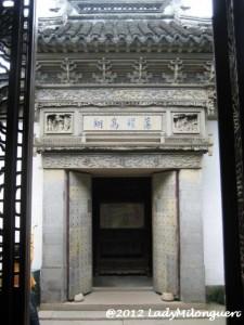Suzhou : Jardin du Maitre des filets