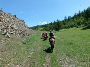 Faites la connaissance de Horsetrails pour randonner à cheval en Mongolie