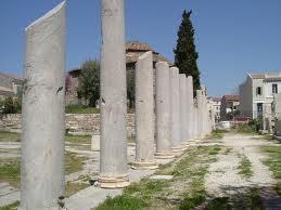 L'Agora, la place principale d'Athènes