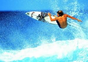 kite-surf à Lanzarote