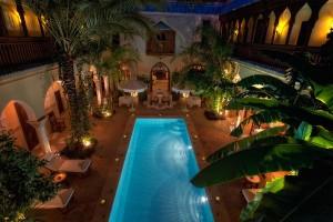 Hebergement de luxe à Marrakech, hotels, riads