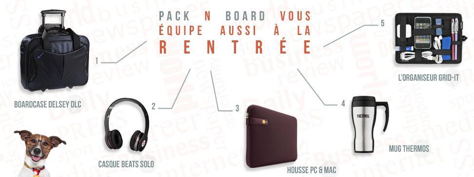 Pack N Board – La boutique en ligne de tous les voyageurs