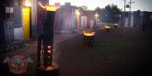 Afrique du Sud : Shanty Town ( Bidonville_logement_hotel )