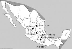 Sur la route de l'argent au Mexique