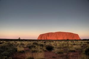 Uluru - Centre rouge Australie