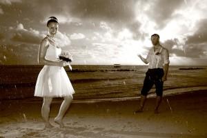 Ile Maurice : une météo favorable au mariage