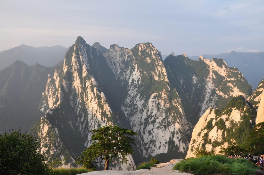 Mount Hua or Hua Shan is located in Shaanxi