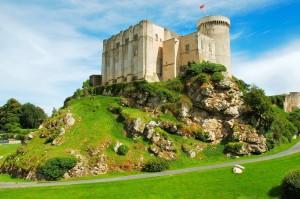 Découvrir le château de Falaise