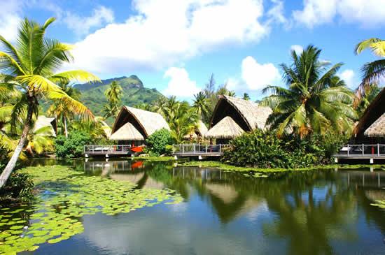 Huahine, une des plus belles îles de la Polynésie