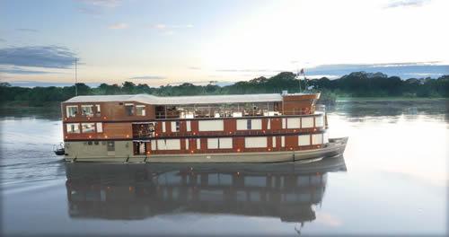 Croisière de luxe en Amazonie
