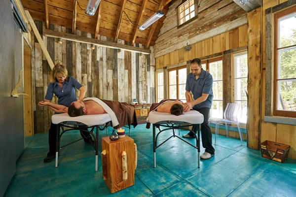 Massages en nature en Mauricie