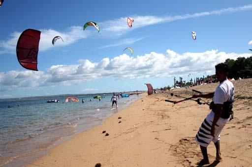 Faire du Kitesurf à Bali
