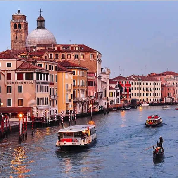 Le grand canal de Venise et ses merveilles