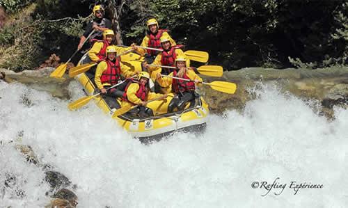 A Serre-Chevalier l'été se prépare avec Rafting Expérience !