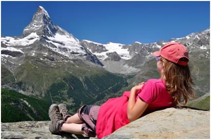 Une colonie de vacances d'été… à la montagne !