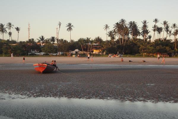 plage principale de Jericoacoara
