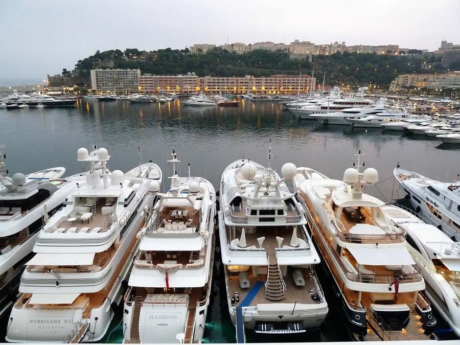 yacht Monaco Port