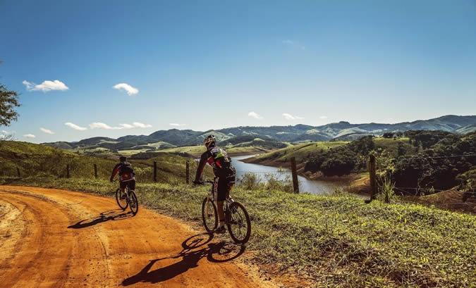 Le vélo en camping, une activité incontournable