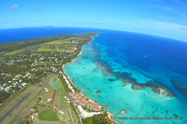 Lagon Saint François Guadeloupe