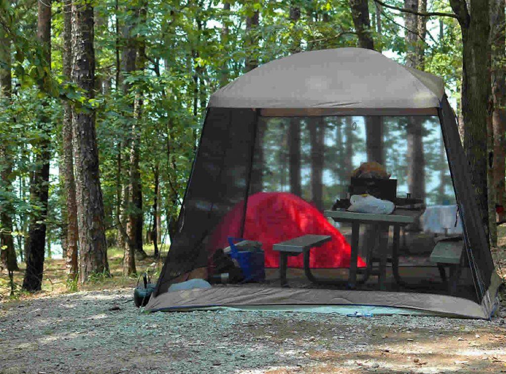 Partir en vacances au camping en bord de plage