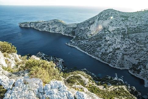 Les Calanques, un massif où la fascination du voyageur n'a pas de limite