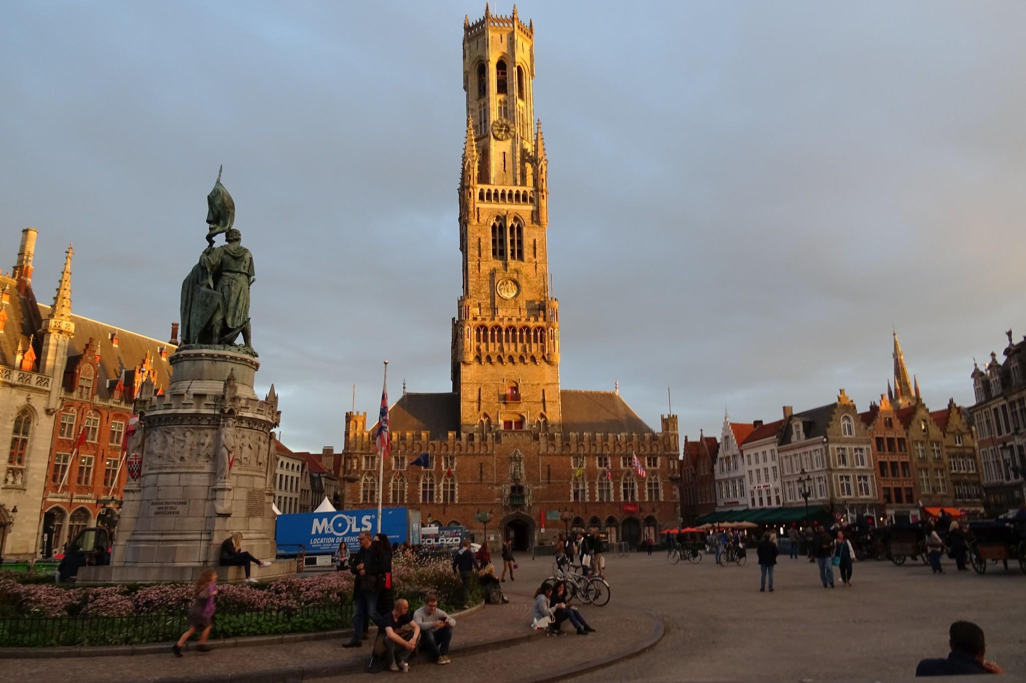Bruges, la Belgique de carte postale